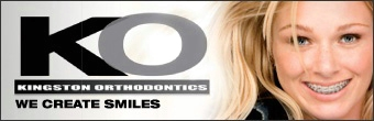 kingston orthodontics Banner